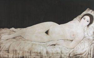 reclining-nude-藤田